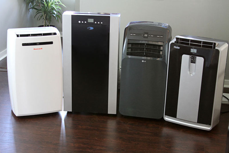 Portable air conditioners.