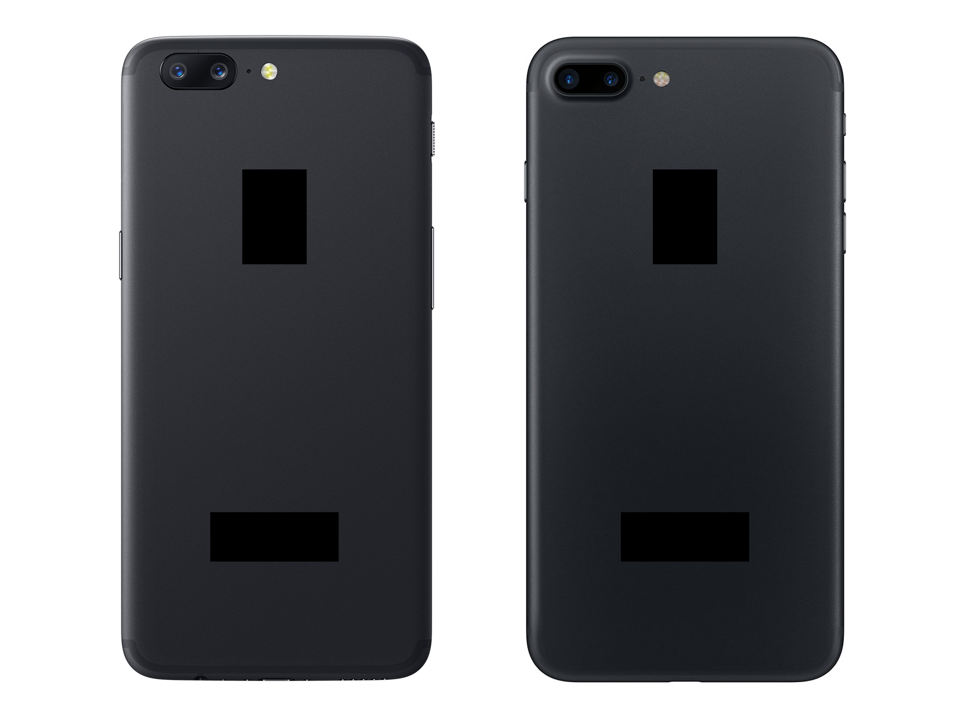 Pop Quiz: Which one is an iPhone, and which is the OnePlus 5?