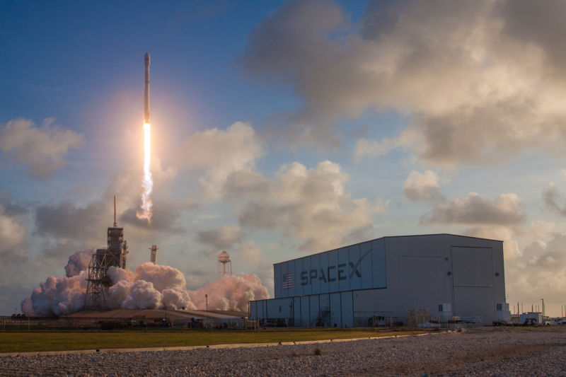 SpaceX launches a satellite for the National Reconnaissance Office on May 1.