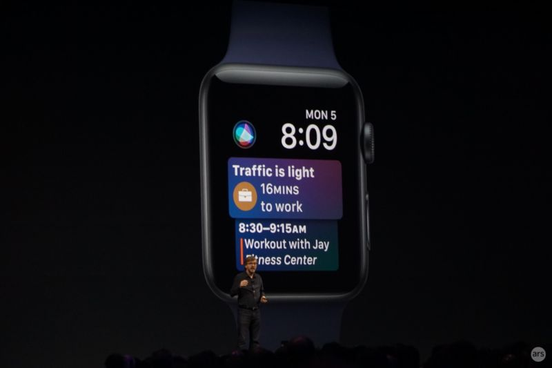 Apple introduces watchOS 4 at WWDC with new Siri-powered watch face