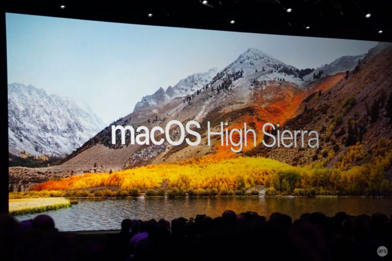 macOS is now fully baked with macOS High Sierra