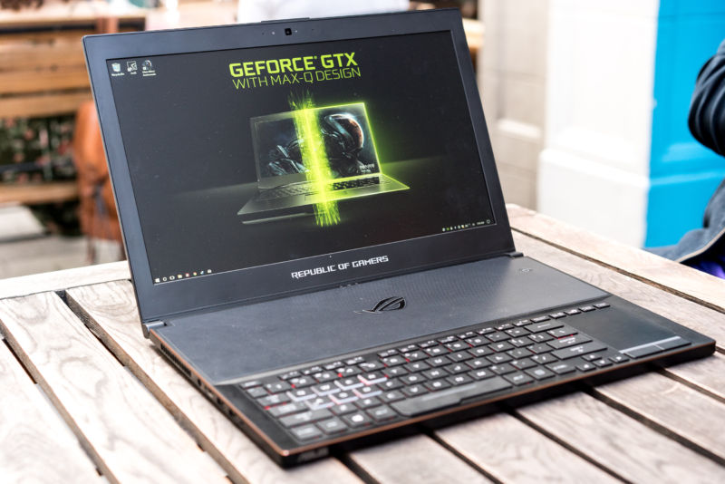 Nvidia Max Q Laptops Impressively Thin But Industrial