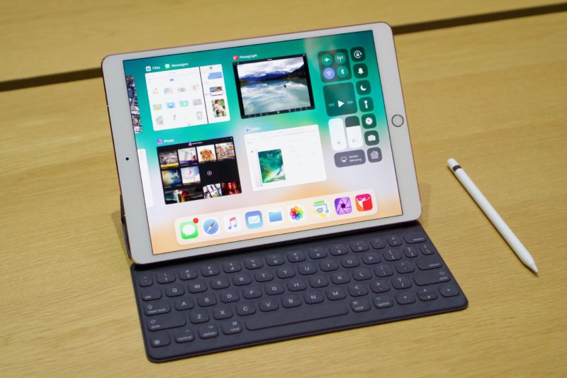 The 10.5-inch iPad Pro.