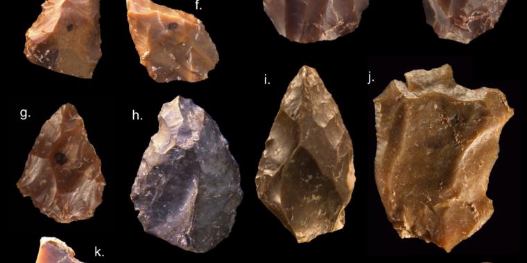 New study tracks the evolution of stone tools