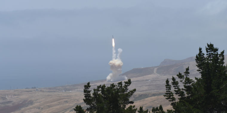 "Video: DOD cancels redesigned ""kill vehicle"" program for ballistic missile defense"