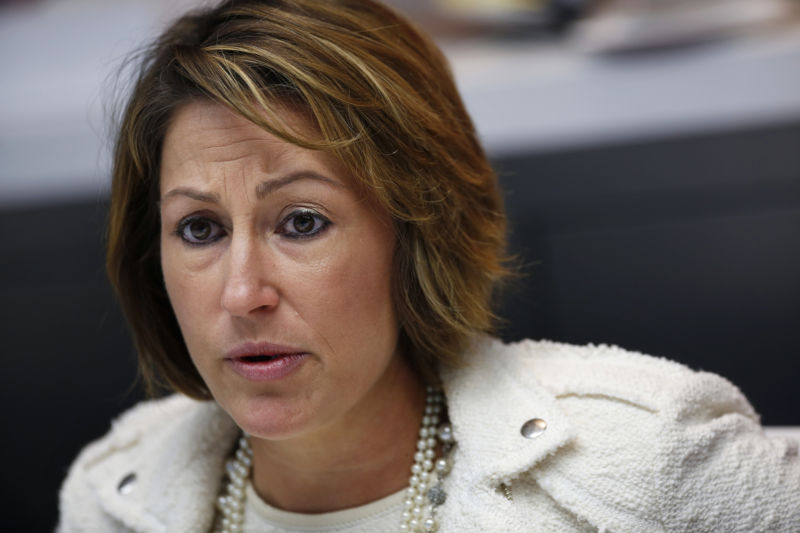 Heather Bresch, chief executive officer of drugmaker Mylan, faces backlash and an ouster from shareholders.