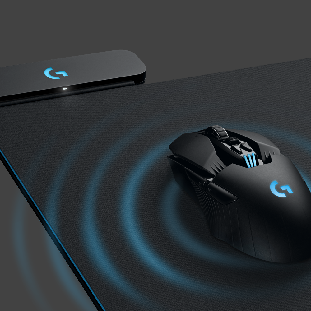 Logitech finally finds a good use for wireless charging: A mouse pad