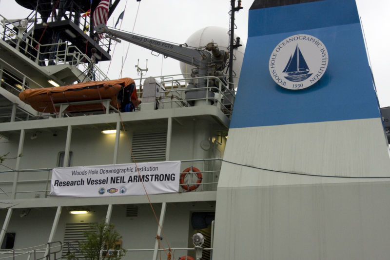 Stepping on Neil Armstrong: Ars visits the Navy's newest research vessel