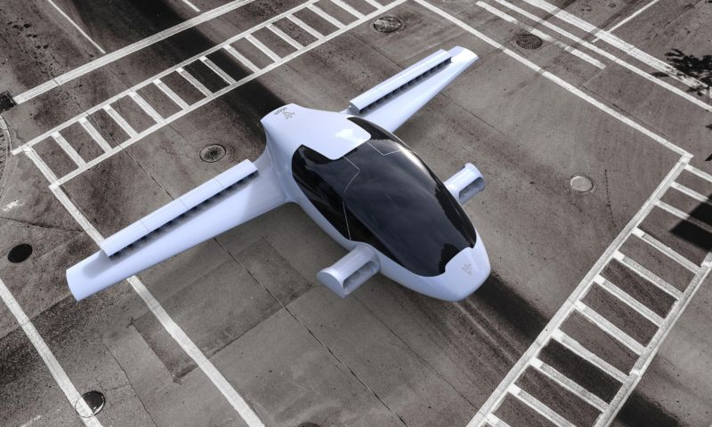 This is Lillium Aviation's proposed VTOL vehicle.