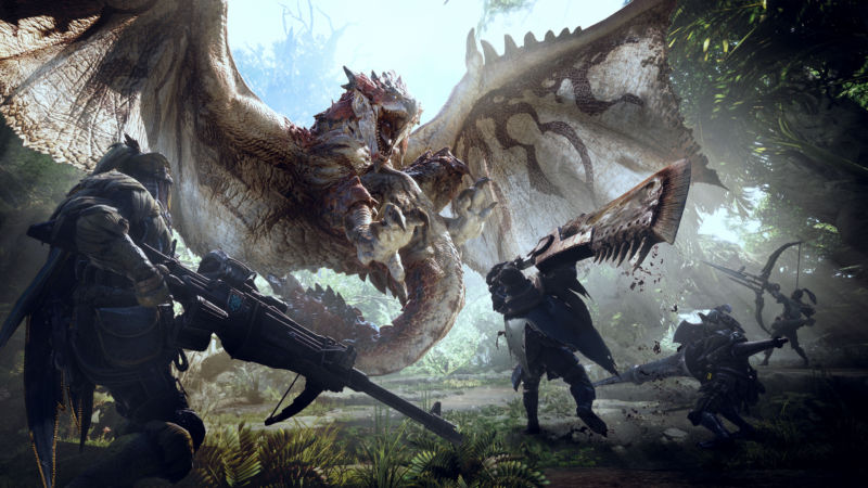 "Monster Hunter: World promises ""deep, meaty experience on console"""