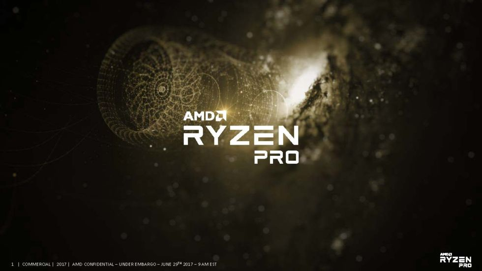 Ryzen Pro: AMD takes on Intel on the corporate desktop, with one key omission