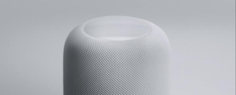 "HomePod is Apple's first ""breakthrough home speaker,"" coming December for $349"