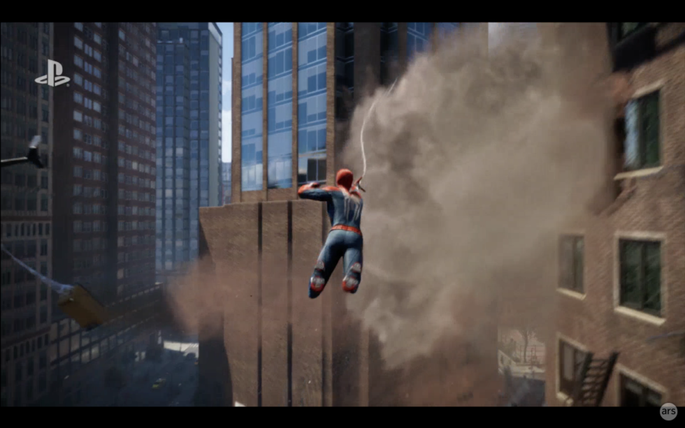 Jump, Spider-Man, jump!