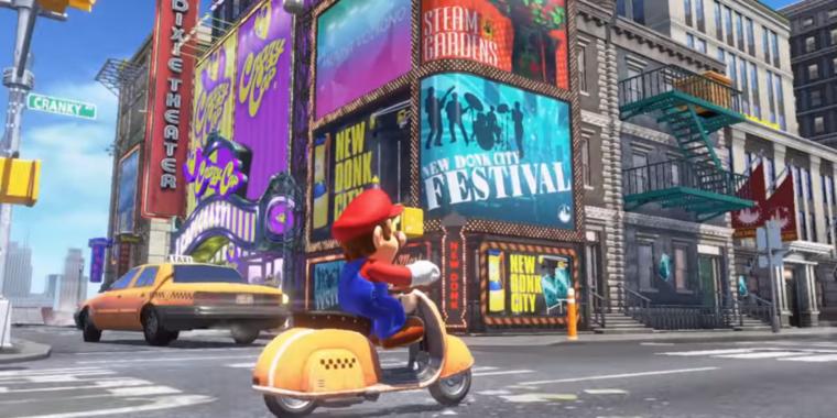 Mario's new tricks make Super Mario Odyssey a joy | Ars Technica
