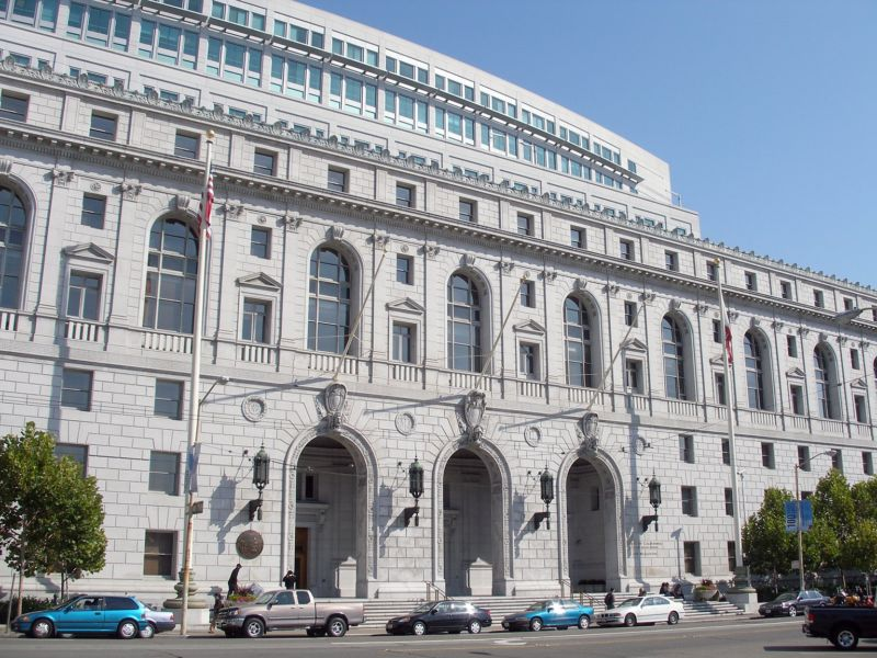 The Supreme Court of California's headquarters is also home to the 1st District in San Francisco.