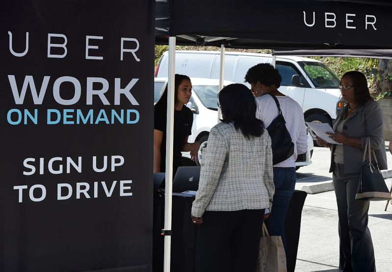 Uber wins key ruling in its fight against treating drivers as employees