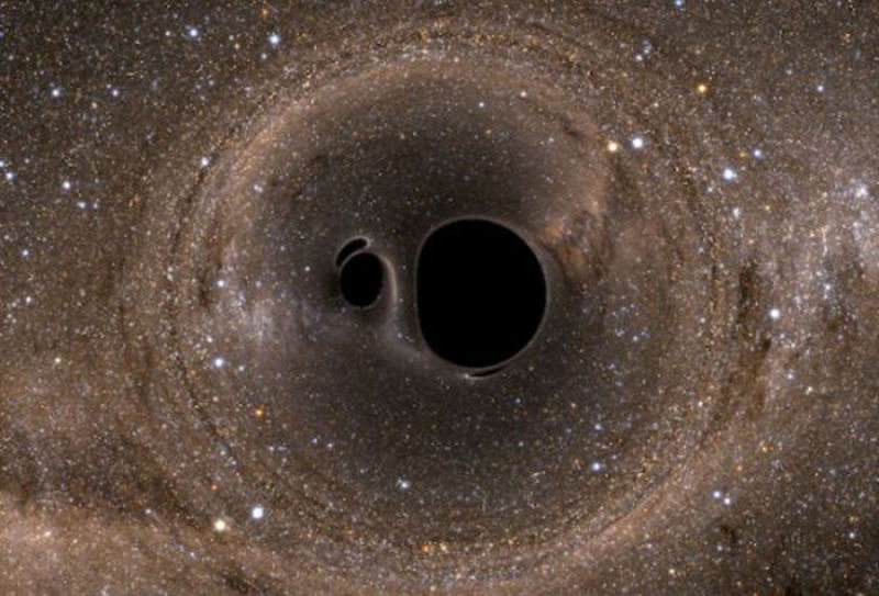 Black-hole mergers may reveal dark past of cannibalism