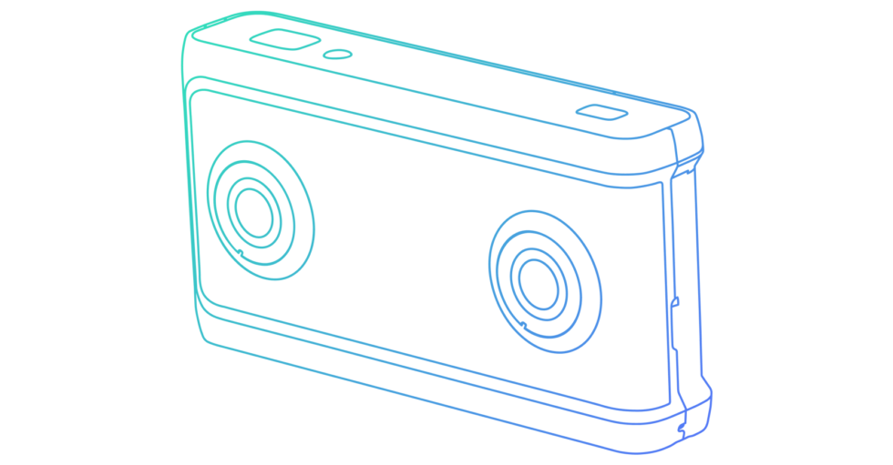 Google only shared an outline of the VR180 camera design.