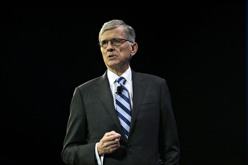 Then-FCC Chairman Tom Wheeler in 2015.