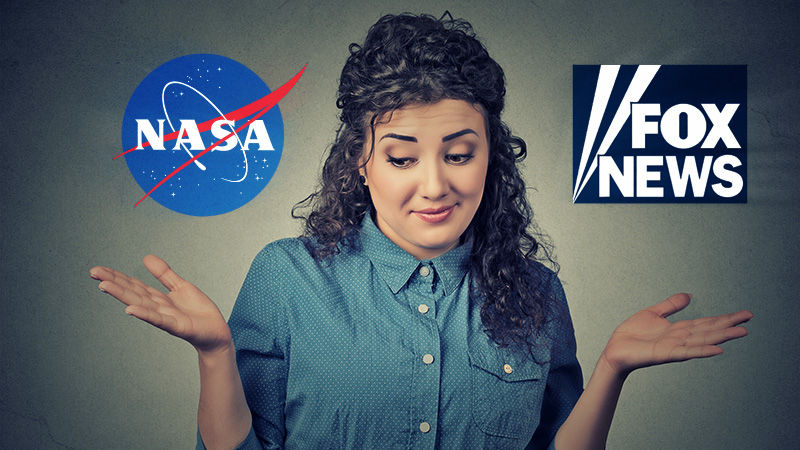 Poll shows trust for NASA on climate, but some put Fox News in second