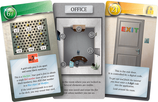 Card-driven puzzles from the <em>Unlock!</em> series.