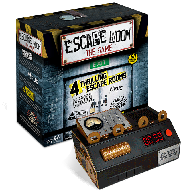Roundup the best escape room games for a breakout party ars the chrono decoderwhich the game bills as the ultimate console for your escape room experienceis an 8 inch long plastic box with various code breaking solutioingenieria Image collections