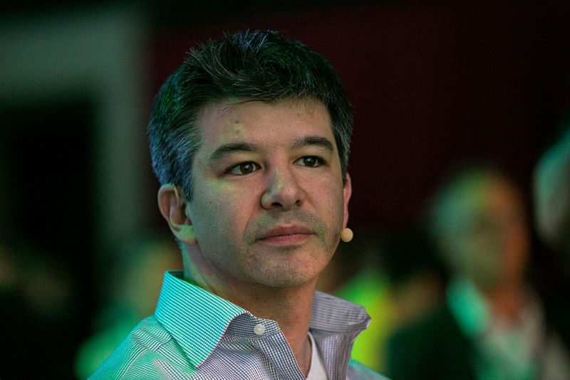 Travis Kalanick, CEO of Uber Technologies Inc., at the Noah technology conference in Berlin in 2016.
