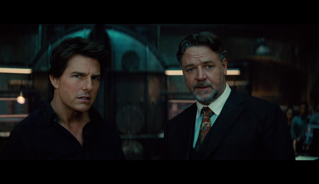 Russell Crowe is a surprising delight in <em>The Mummy</em>, however briefly he appears.