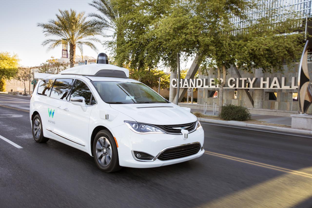 Waymo is using a fleet of Chrysler Pacifica Hybrid minivans to develop its self-driving technology.