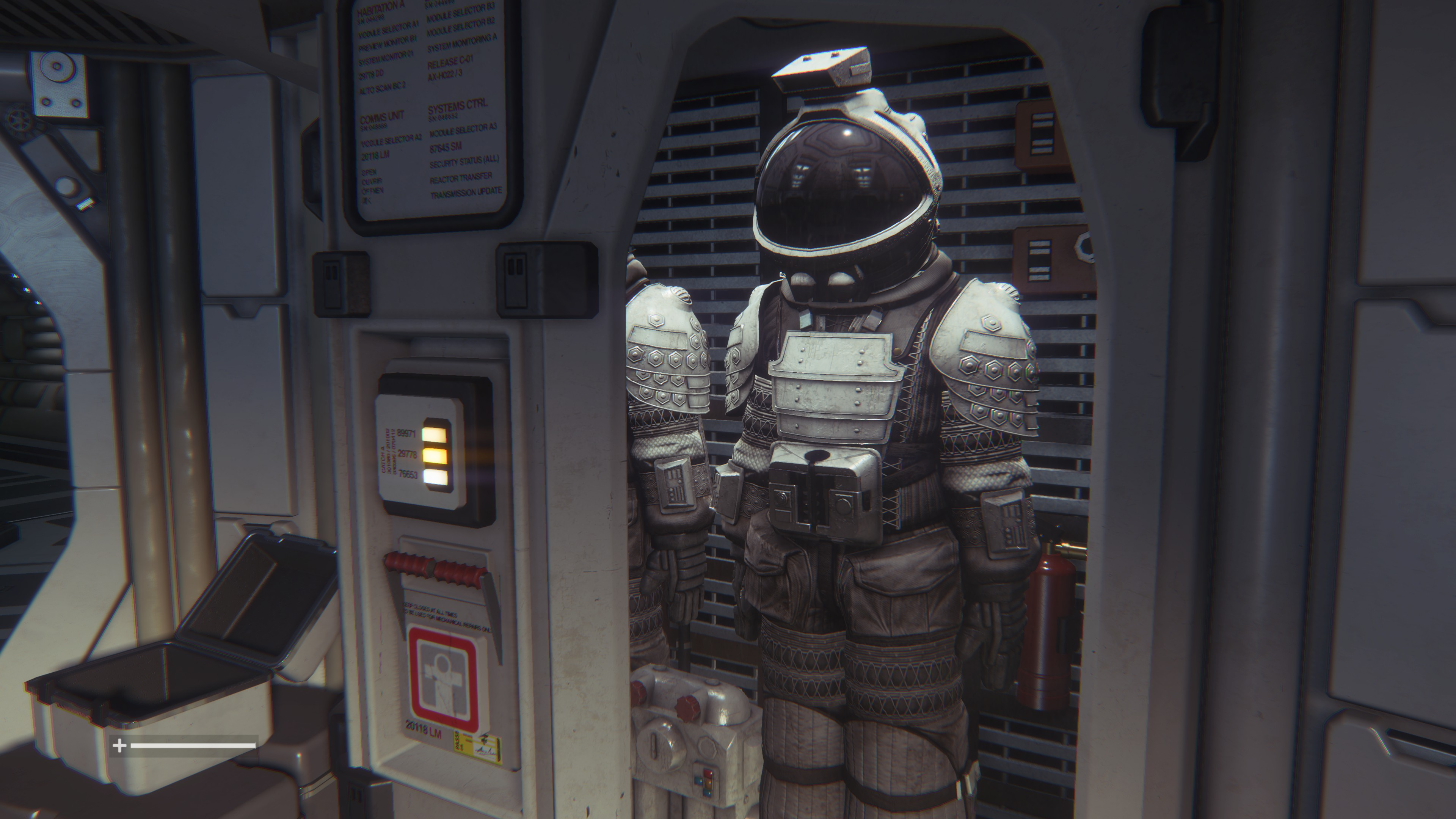 "Unfortunately, VR makes for <a href=""https://arstechnica.com/gaming/2014/11/the-oculus-rift-makes-elite-dangerous-amazing-and-impossible-to-describe/"">terrible screenshots</a>, so here's a non-VR image of <em>Alien: Isolation.</em>"