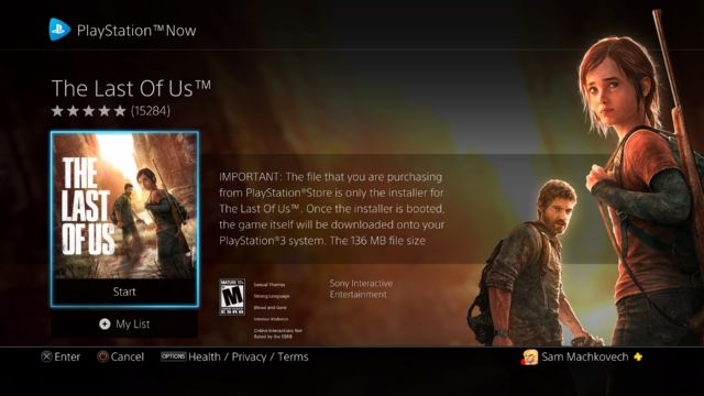 PlayStation Now updated with PS4 game support—and a hint at its