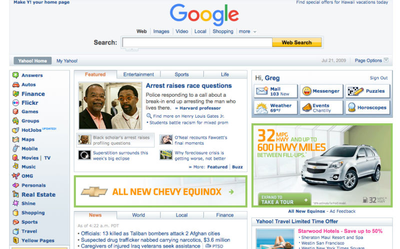 Google denies claims of a desktop Google.com revamp