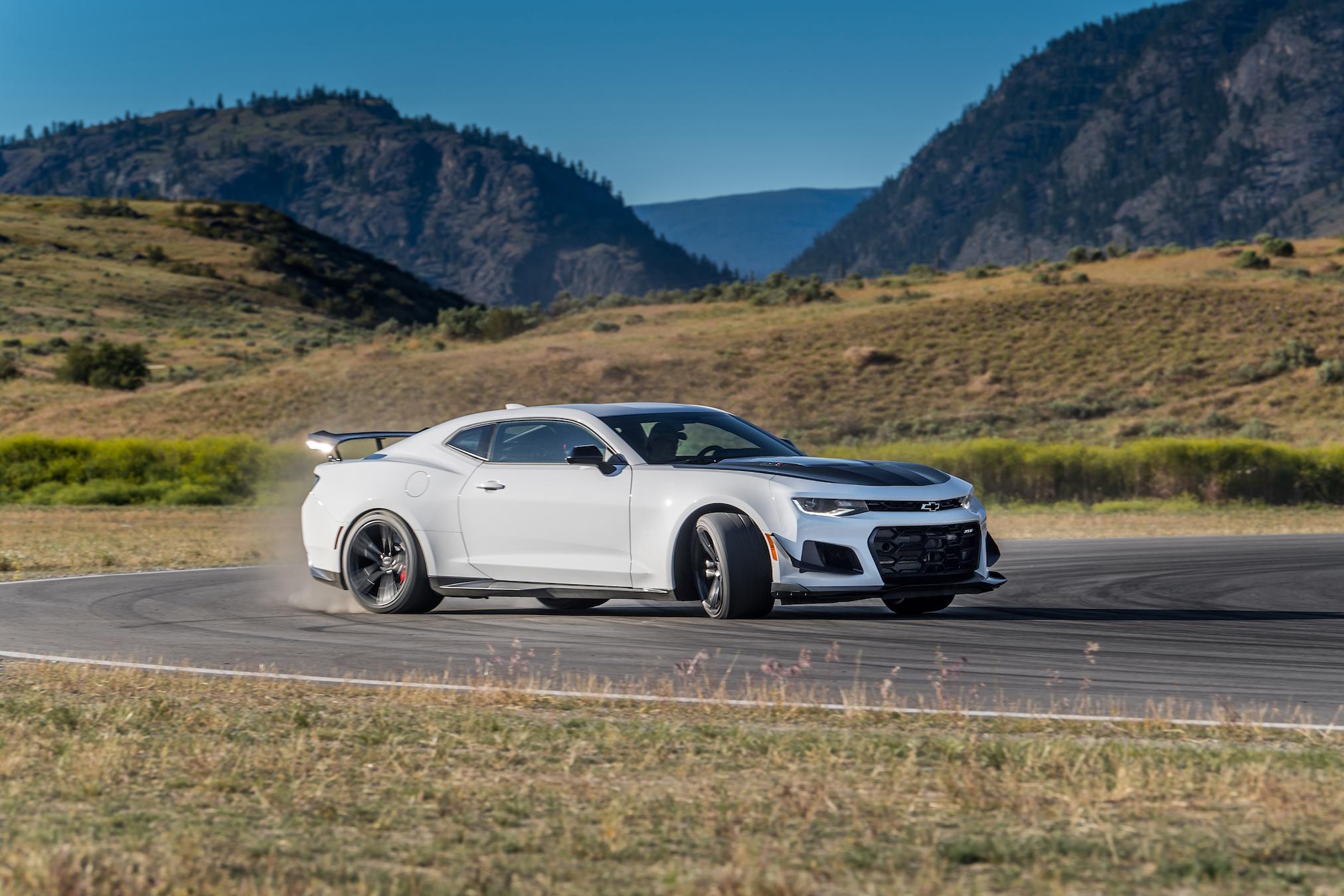 Camaro goes nuclear Chevrolet escalates the muscle car war