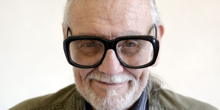 photo image George A Romero, master of the zombie horror, dies aged 77