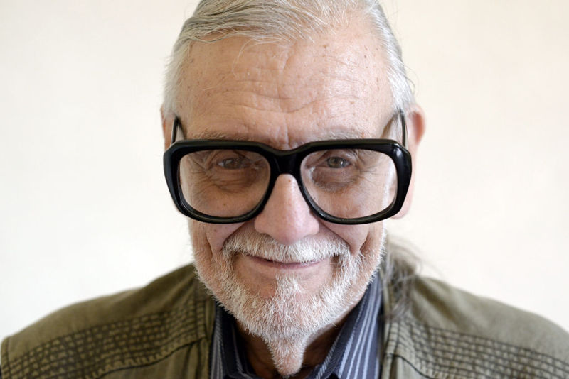 George A Romero, master of zombie horror, dies at 77