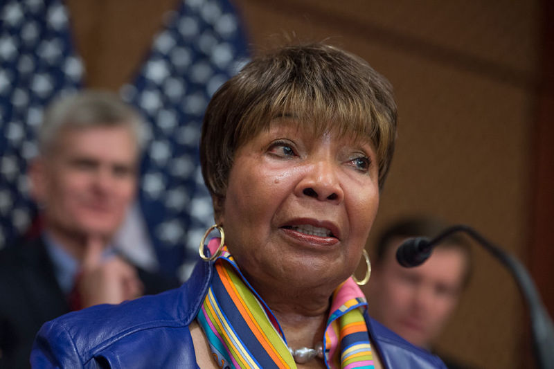Texas' Eddie Bernice Johnson.