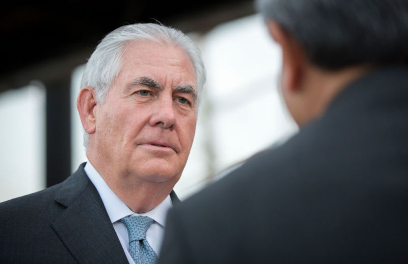 Rex Tillerson, US secretary of state, has decided to merge the State Department's Office for the Coordination of Cyber Issues into the department's economic bureau, as State's chief cyber-diplomat departs.