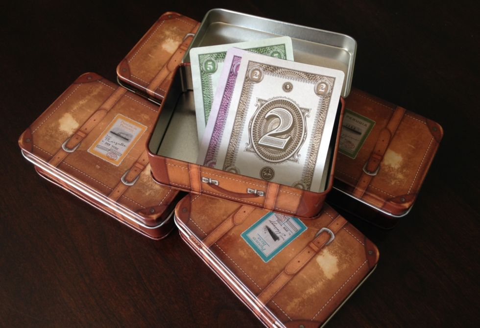 Suitcases full of cash win you the game.