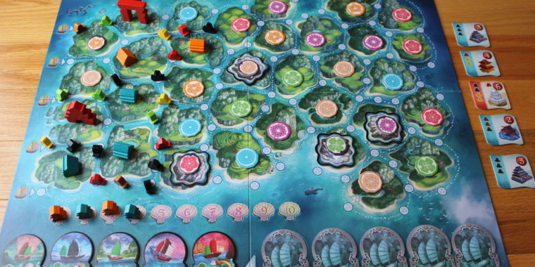 Review: Days of Wonder's hot new board game, Yamataï | Ars Technica image