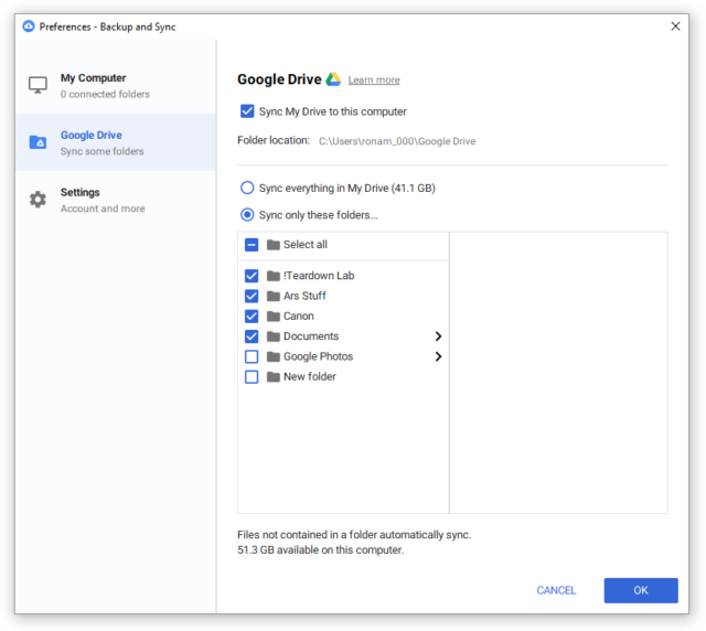 """Google's new """"Backup and Sync"""" app lets you back up your"""
