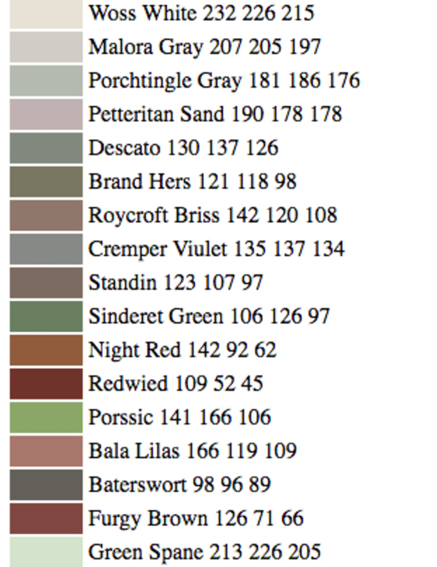 How To Get A Job Naming Paint Colors