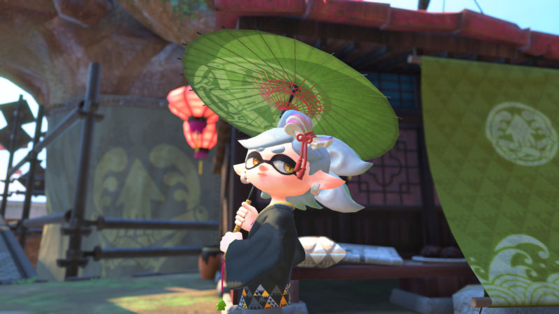 The Squid Sisters star Marie needs your help. And some shade.