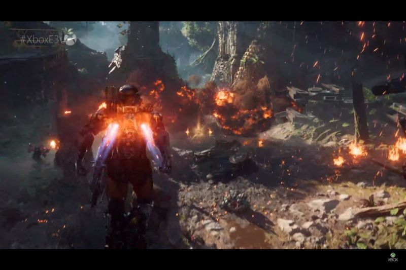 Hudson returns to BioWare as the company pivots to <em>Anthem</em>, its first new IP in over a decade.