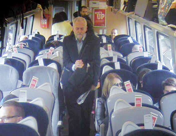 "Virgin's CCTV images of Corbyn on ""ram-packed"" train didn't break data law"
