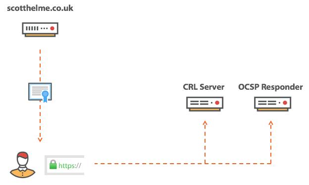 CRL and OCSP checks.