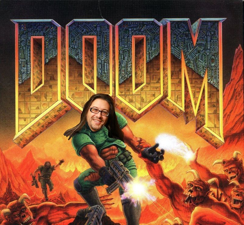 John Carmack on the Doom cover