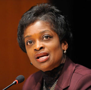 FCC Commissioner Mignon Clyburn in November 2015.