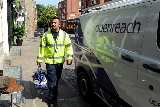Openreach faces regulatory action if BT split fails to spur broadband market