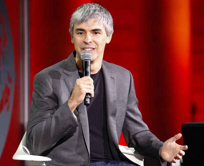Larry Page at an event in San Francisco in 2015.