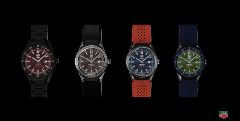 Intel-powered Tag Heuer smartwatch.